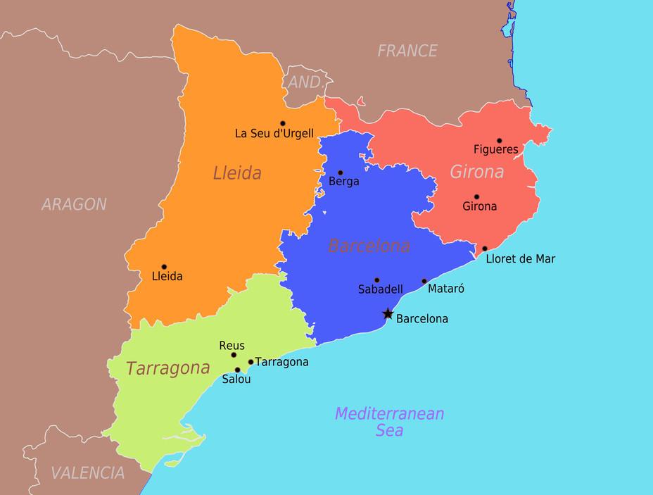 Каталония: сепаратизм под сенью эстелады