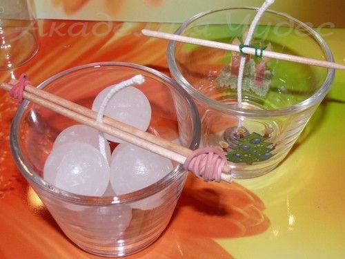 Как сделать свечку своими руками в стакане 52