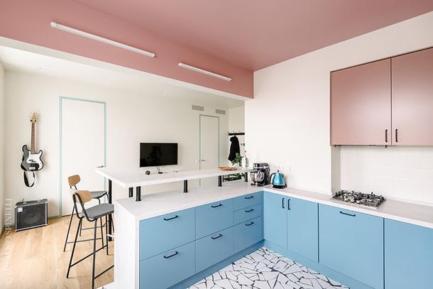 Квартира в Москве для любителя скандинавского стиля, 55 м²