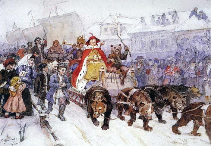 Новогодняя елка: история появления в России