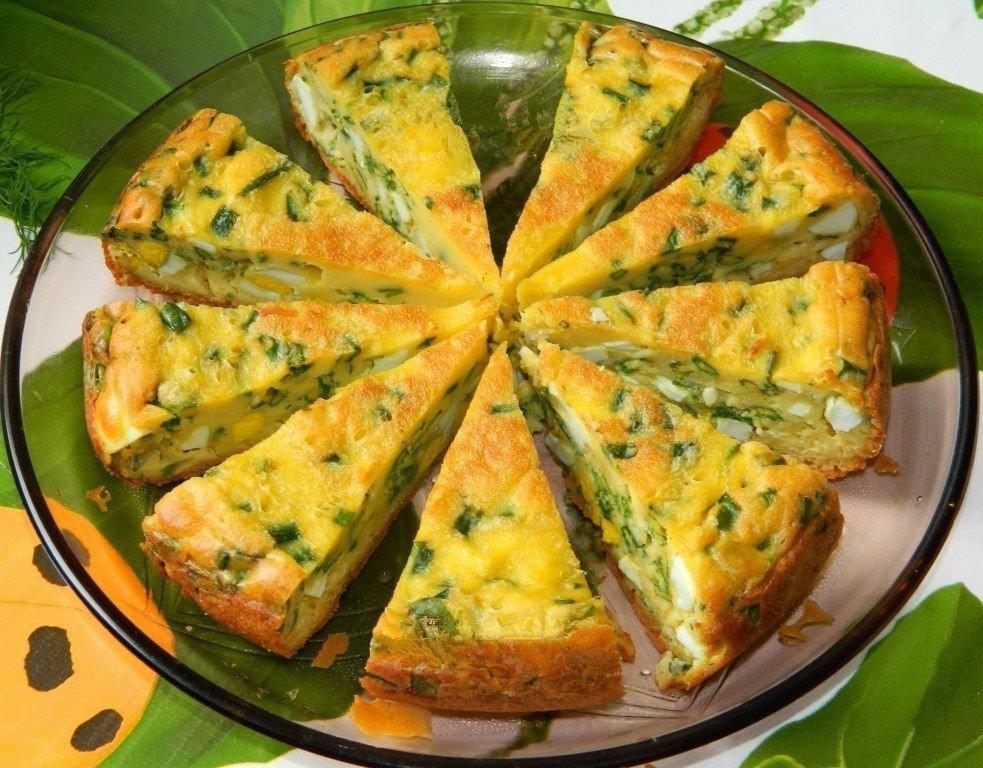 Пирог с яйцами в мультиварке рецепты с фото