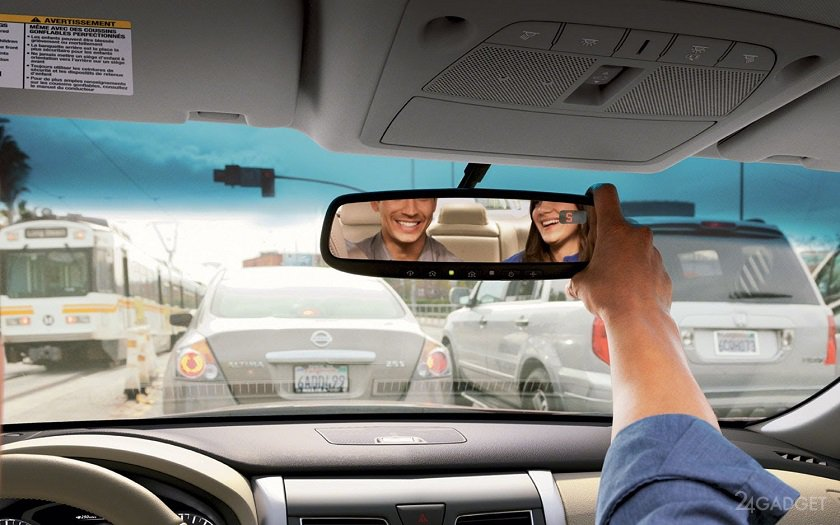 В помощь автомобилистам — умное зеркало заднего вида от Xiaomi