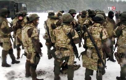 Группа украинских военных пропала в Луганской области
