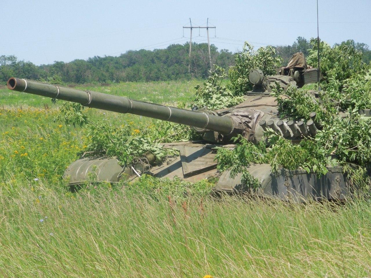 Модернизация ранних танков Т-72 в ДНР