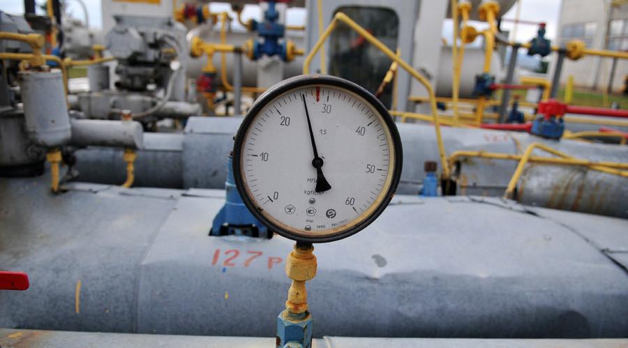 На Украину стал идти газ из Крыма