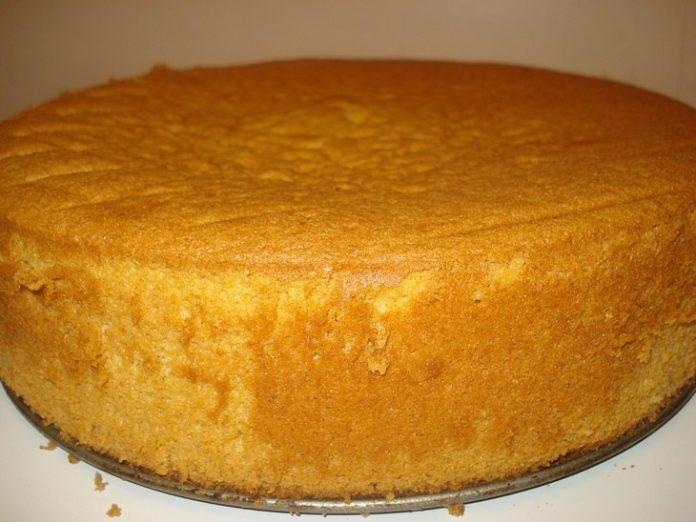 Очень удачный рецепт бисквита на сметане - пышный и вкусный!