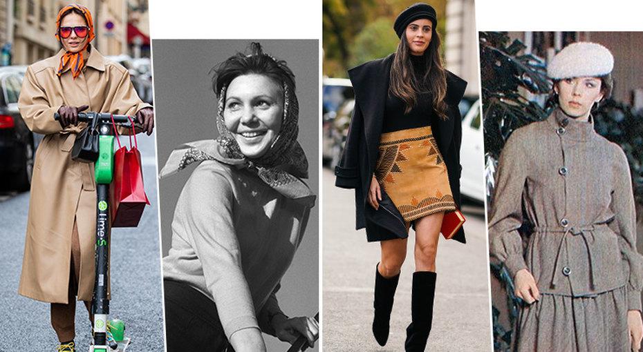 Ситцевое платье, косынка, клёш: полный список ретро-вещей, которые снова в моде