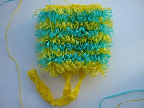 Мастер-класс вязания мочалки