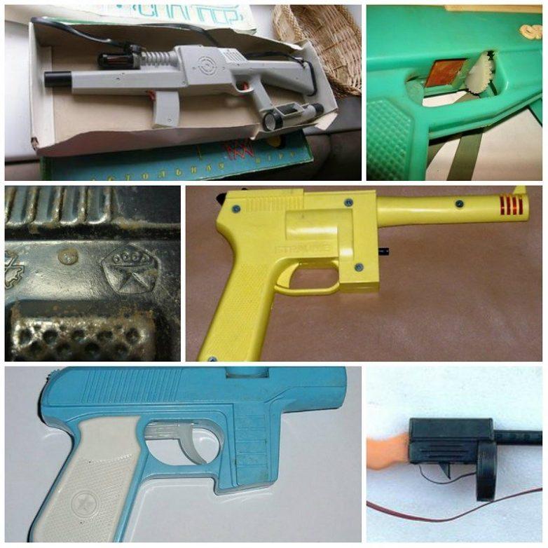 Оружейный арсенал нашего детства