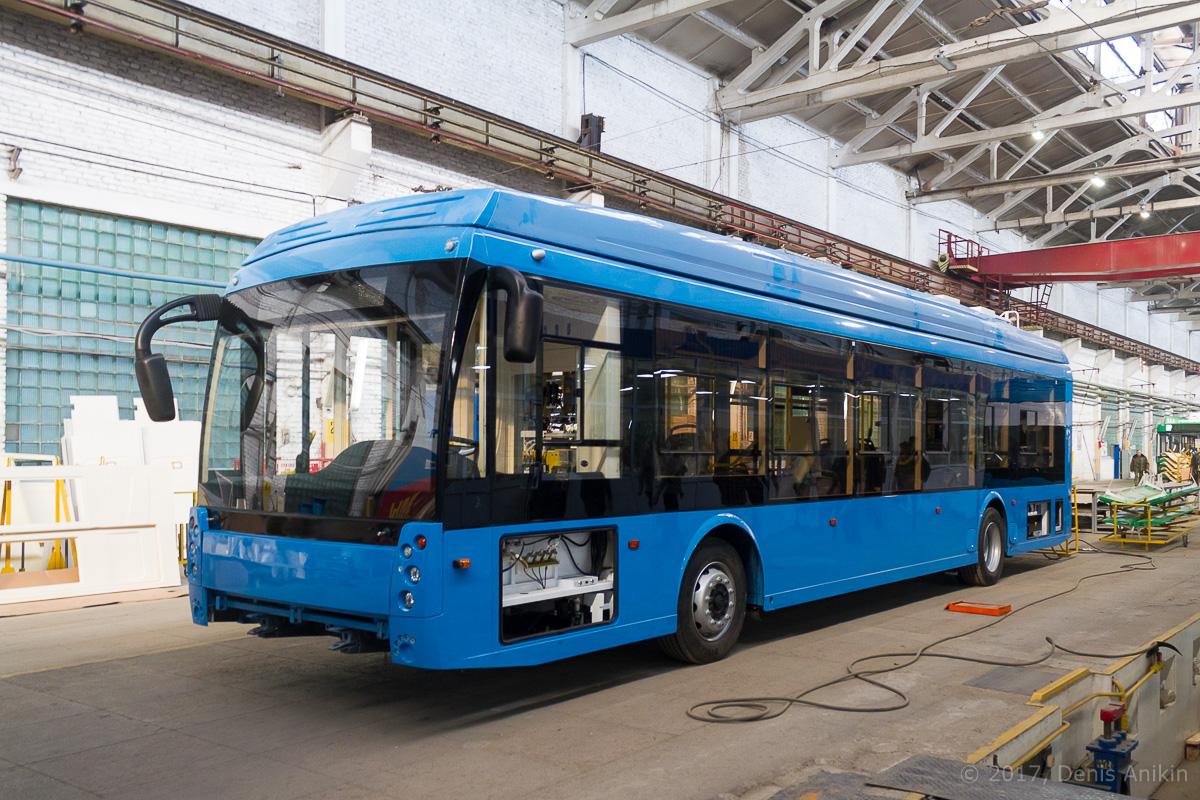 Как делают троллейбусы