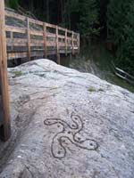 Петроглиф «Rosa Camuna», Селеро, Италия, бронзовый век