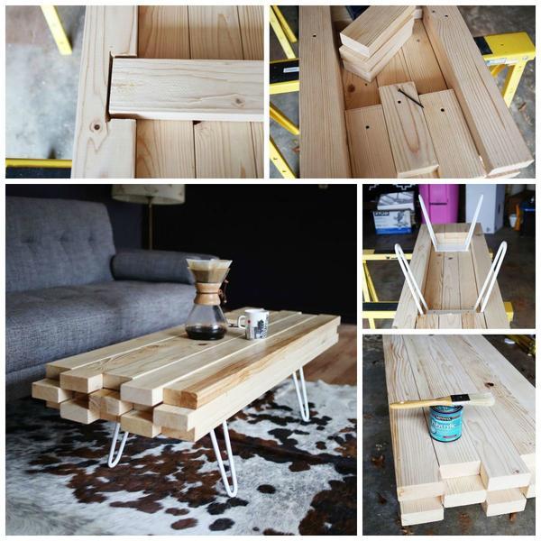 Как сделать стол из досок своими руками для дачи 824