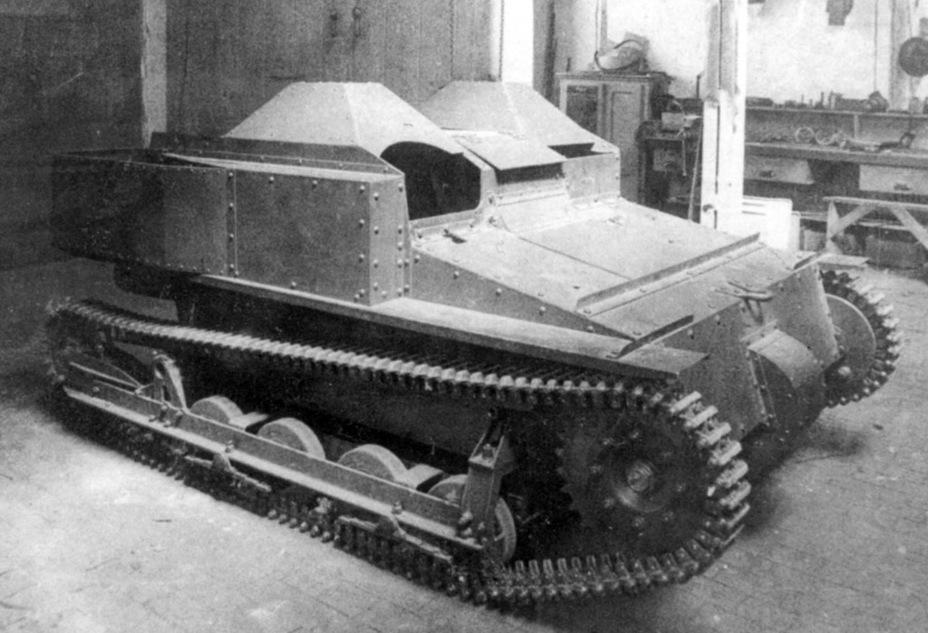 Большой успех маленьких танков
