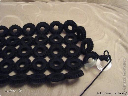 Сумочка из колец с бисером. Вязание крючком без отрыва ниток (11) (520x390, 119Kb)