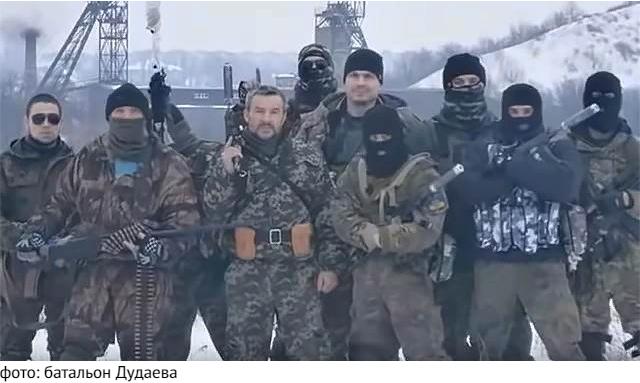 "Боевики ИГИЛ* и ""Буцефалы"" на линии фронта в ДНР"