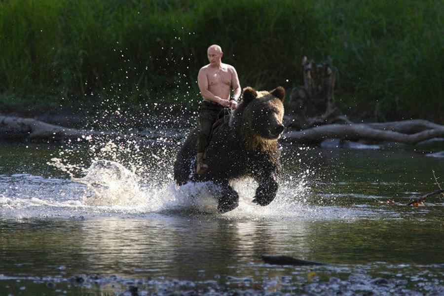 Французы отыскали источник силы Путина