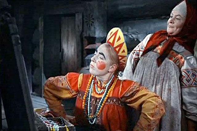 Кадр из фильма «Морозко», 1965 год