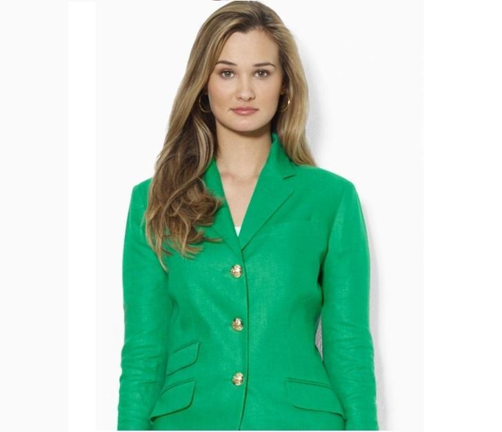Интереснейшая история про женский зеленый костюм и сдачу экзамена…