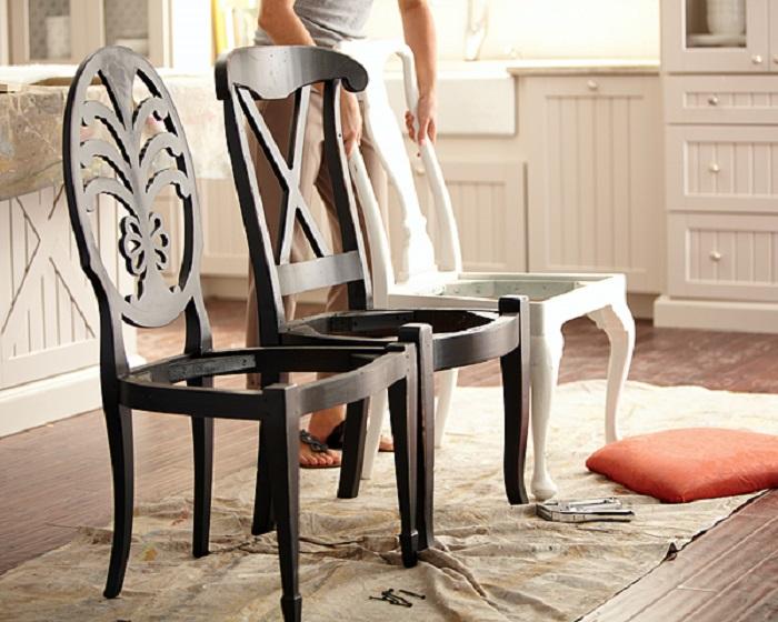 Невероятное перевоплощение обычного стула