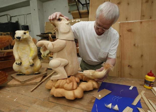 создание скульптуры