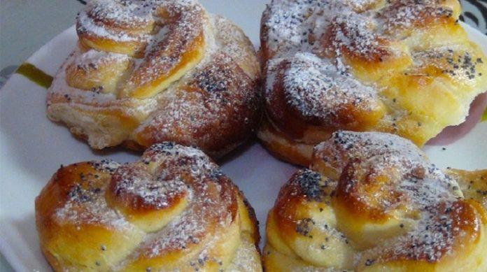Имбирные булочки с корицей: приглашаю всех на чай
