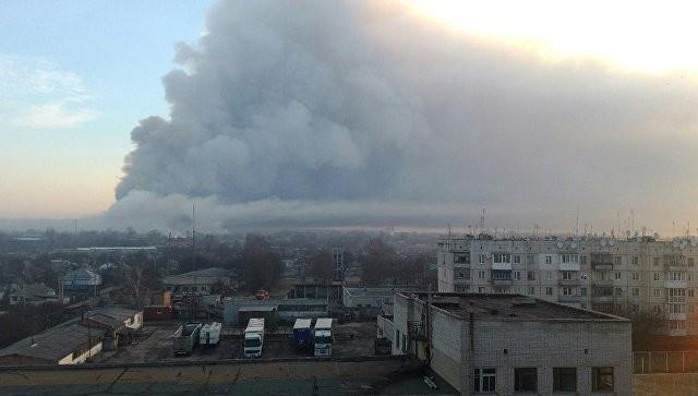 ЛНР: ВСУ подорвали склад под Харьковом, чтобы скрыть недостачу боеприпасов