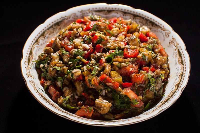 Вкуснейший салат на гриле