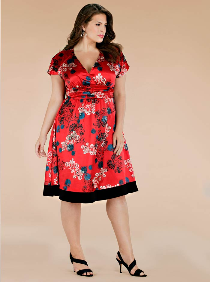 Фасон платья для полной женщины