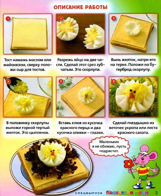 фото красивых бутербродов с рецептом для 4 класса