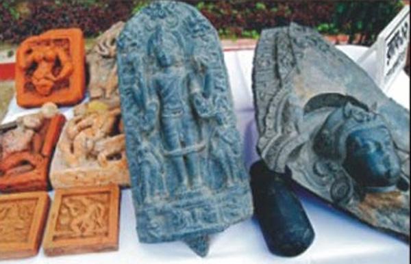 Древний идол бога Вишну найден в Старой Майне