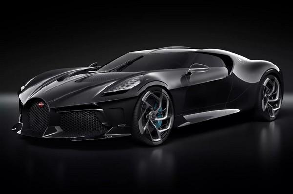 Гиперкар Bugatti La Voiture Noire стал самой дорогой новой машиной