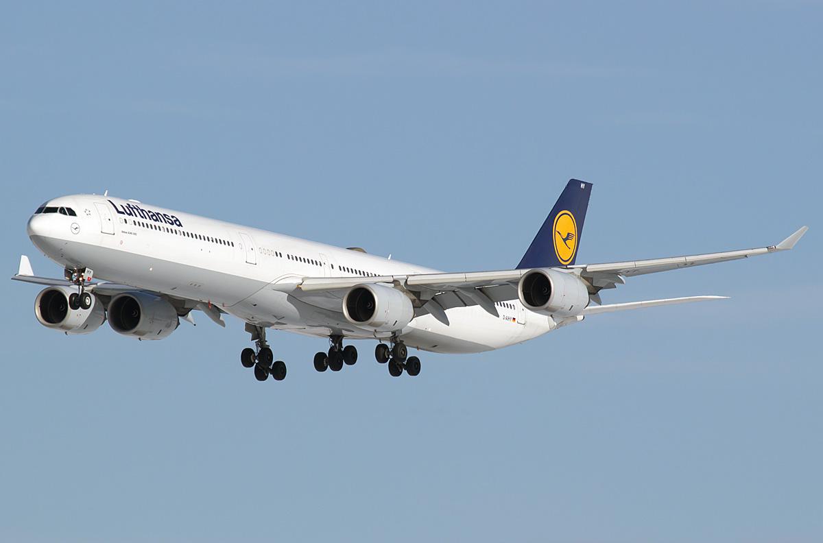 Lufthansa отправляет A340-600 на кладбище самолётов