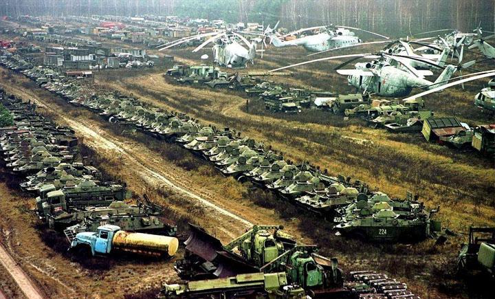 Как чернобыльская техника воюет на Донбассе