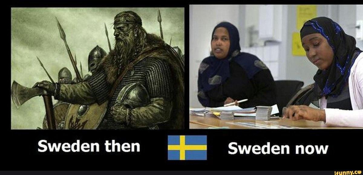 Размножение Европы под вопросом. Швеция тоже спасается мигрантами