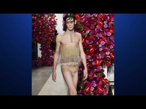 Носить платья и не стесняться предложил мужчинам дизайнер Алехандро Паломо