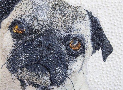 Невероятно реалистичные портреты животных из бисера от Сары Джейн Коннорс (11 фото)