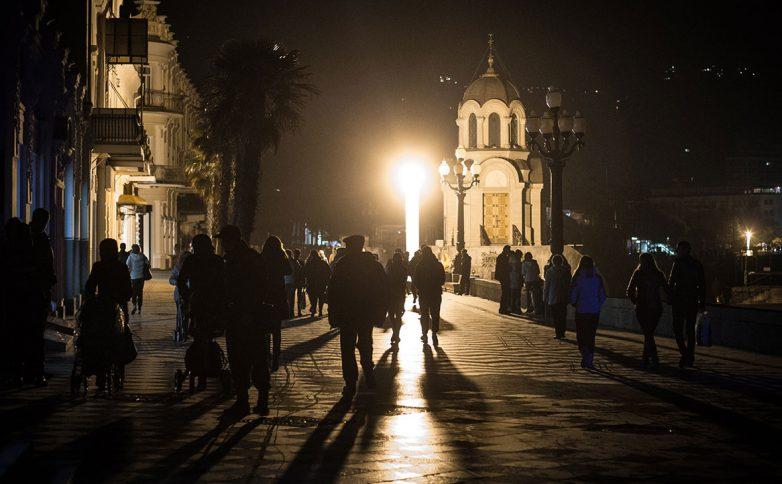 В Крыму без света остались б…
