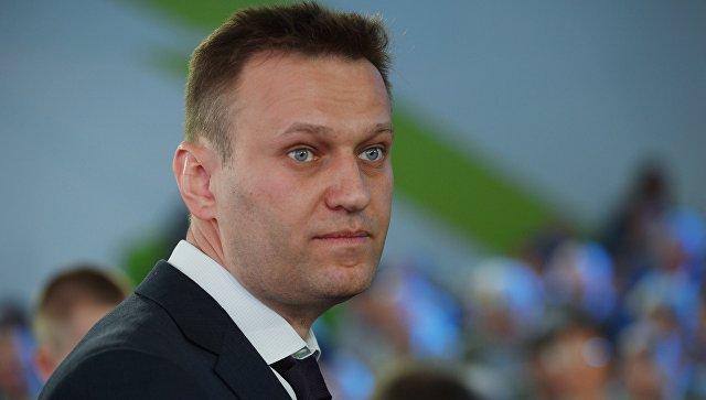 Навального арестовали на 30 суток за призывы к несанкционированному митингу