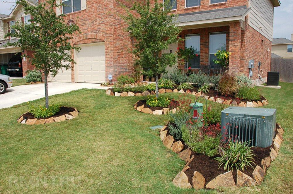 Как украсить приствольные круги деревьев в саду