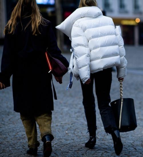 модная куртка дутыш - уличная мода 2017