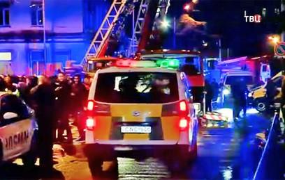 При пожаре в гостинице в Батуми погибли 11 человек