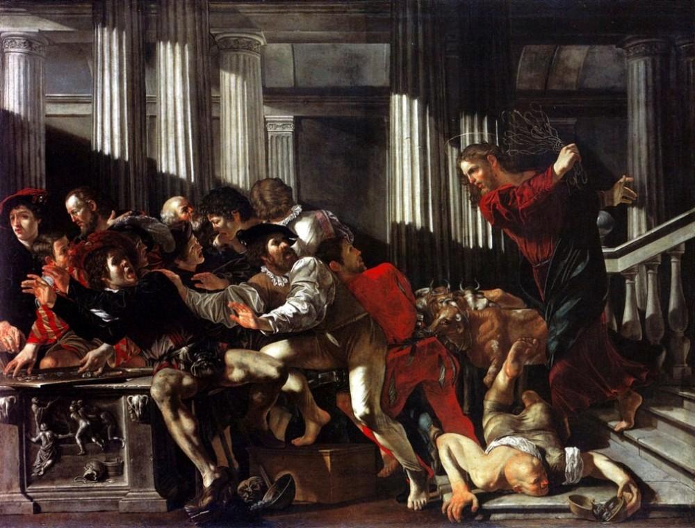 Когда- то Иисус Христос бичом выгонял торговцев из храма, почему сейчас можно?
