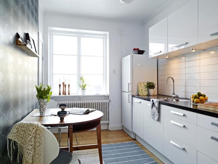18 стильных столов, которые эффективно оптимизируют пространство маленькой кухни