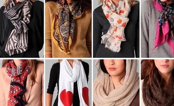 Как красиво носить шарф: 12 …