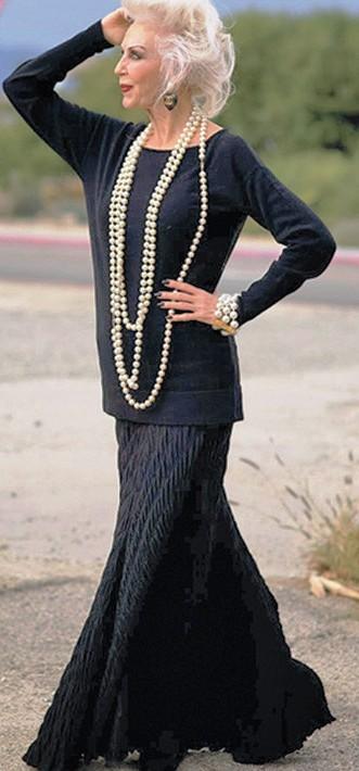 20 модниц возраста 60 плюс , которые доказывают, что стиль остается с вами навсегда