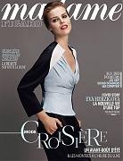 Ева Герцигова на обложке журнала «Madame Figaro» (фотограф: Ральф Меке)