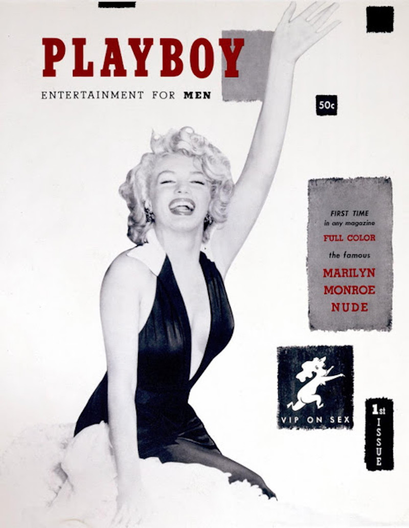 Marilyn Monroe celebrities, playboy, ностальгия