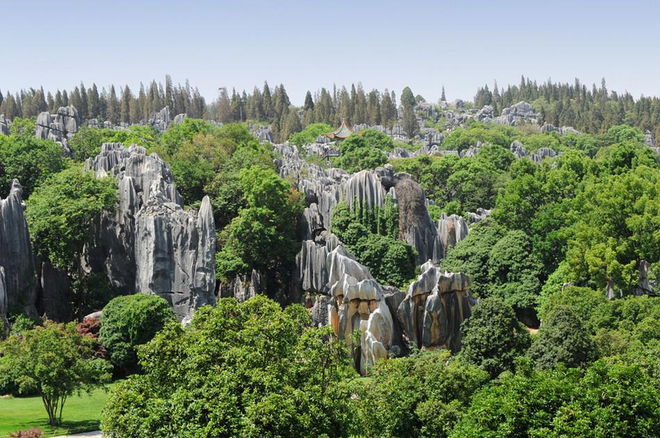 Каменный лес в провинции Юнань, Китай геология, история с географией, красота, скалы