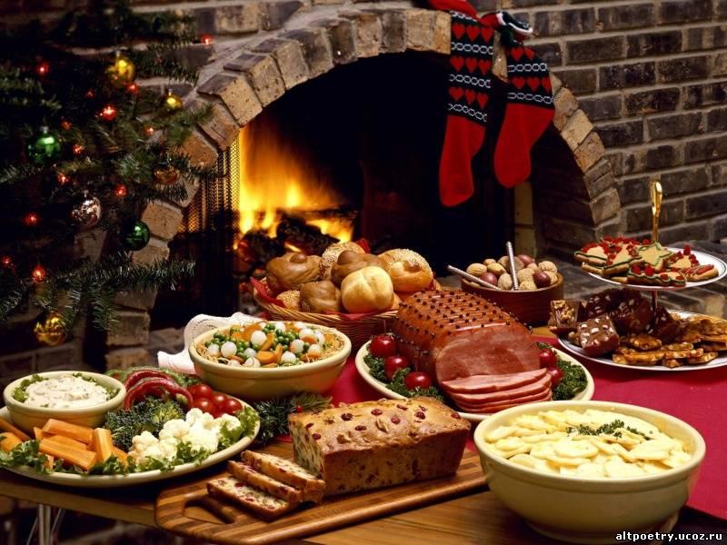 Рождественский и новогодний стол для диабетиков