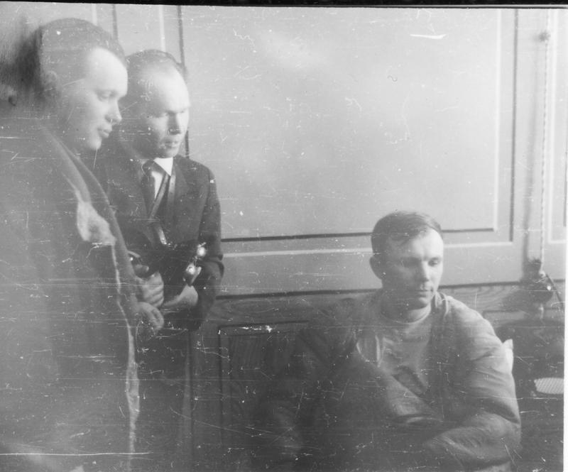 Ю.Гагарин в штабе 4 Управления НИИ ВВС. СССР, Ю. Гагарин, история, факты, фото
